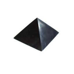Šungitová pyramída leštená