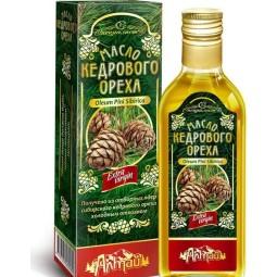 100% Cédrový olej Altajský