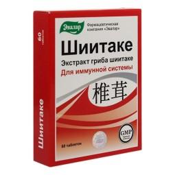 Evalar: Shiitake (60 tabliet)